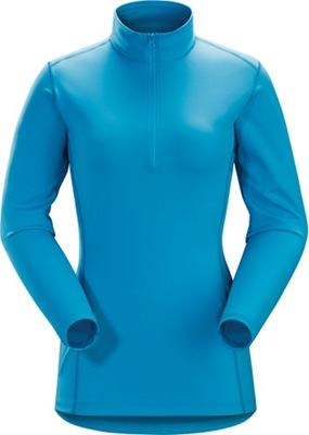 Arcteryx Women's Phase AR Zip Neck LS Top