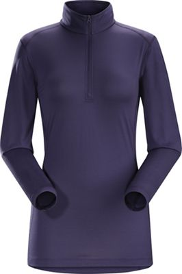 Arcteryx Women's Phase SL Zip Neck LS Top