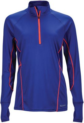 Marmot Women's Interval 1/2 Zip LS Jersey