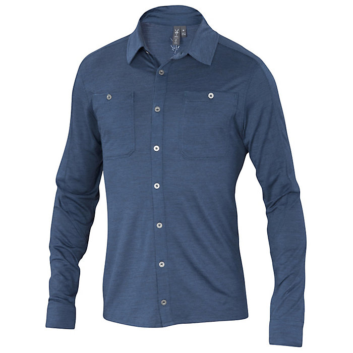 Ibex Men s OD Heather Shirt - Moosejaw 3e580cff6