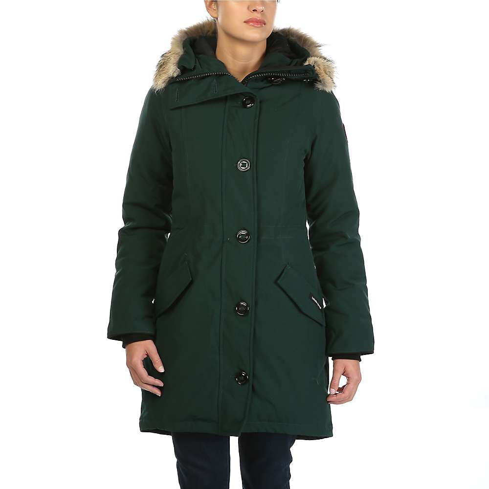 canada goose arctic tech rossclair down parka