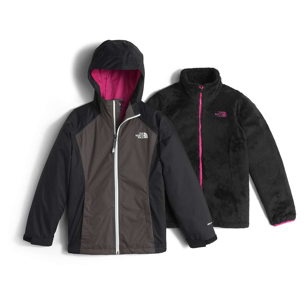 a99385354 The North Face Girl s Osolita Triclimate Jacket - Moosejaw