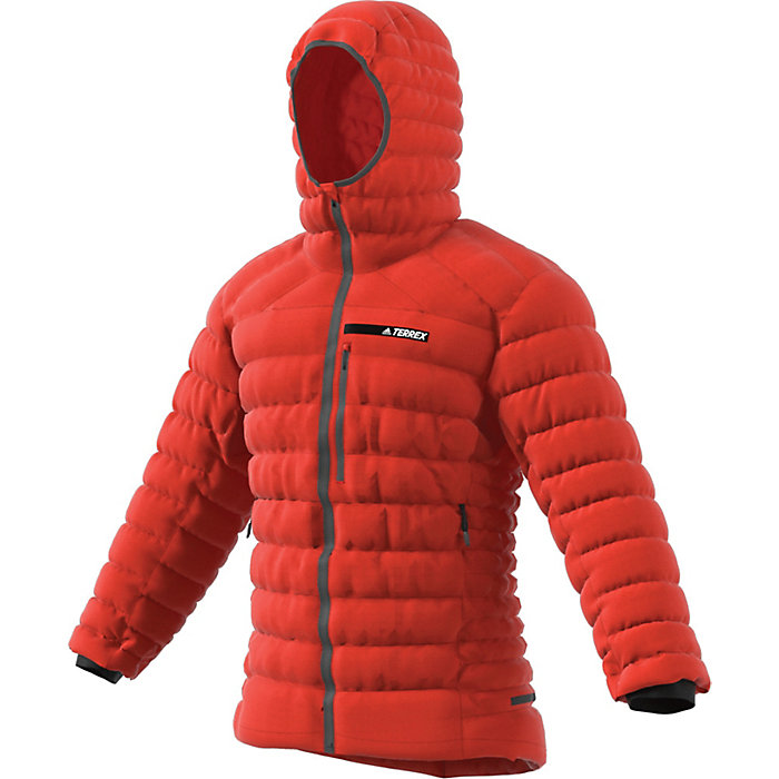 shop great look 100% high quality Adidas Men's Terrex Climaheat Agravic Down Hooded Jacket ...
