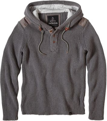 Prana Men's Hooded Henley Sweater