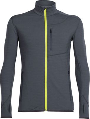 Icebreaker Men's Descender LS Zip Top
