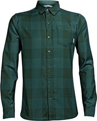 Icebreaker Men's Departure II LS Plaid Shirt