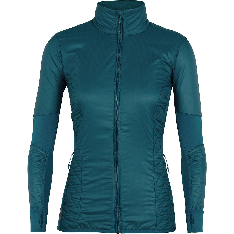 87c180625d6 Womens Activewear Long Sleeve Shirts. Icebreaker Women's Helix LS Zip