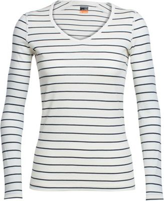 Icebreaker Women's Oasis LS V Neck Top