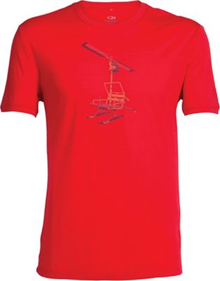 Icebreaker Men's Tech Lite SS Graphic Crewe