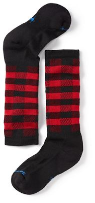 Smartwool Kids' Wintersport Buff Check Sock