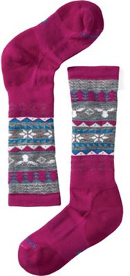Smartwool Girls' Wintersport Fairisle Moose Sock