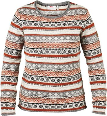 Fjallraven Women's Ovik Folk Knit Sweater