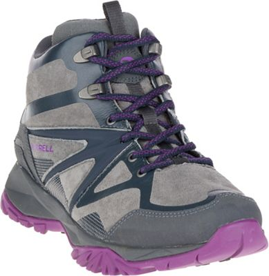 Merrell Women's Capra Bolt Leather Mid Waterproof Shoe