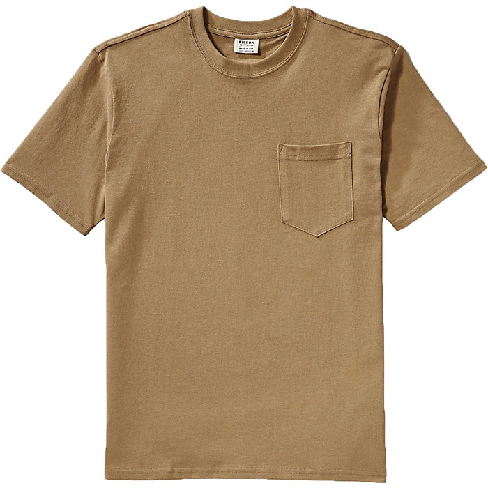 d40ae651 Filson Men's Short Sleeve Outfitter Solid One-Pocket T-Shirt - Moosejaw