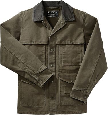 Filson Men's Stonewashed Canvas Cruiser Jacket