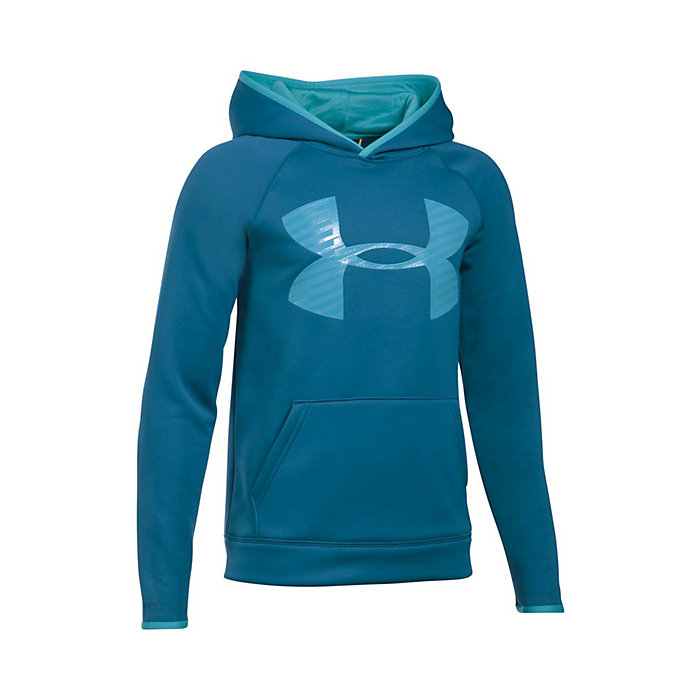 f699d3030 Under Armour Boy's Armour Fleece Storm Highlight Hoodie - Moosejaw
