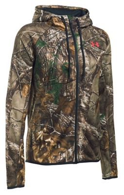 Under Armour Women's Camo Full Zip Hoodie