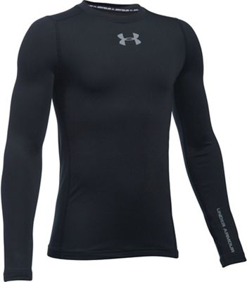 Under Armour Boys' UA ColdGear Armour Crew Neck Top