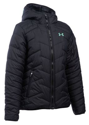 Under Armour Girls' UA ColdGear Reactor Hooded Jacket