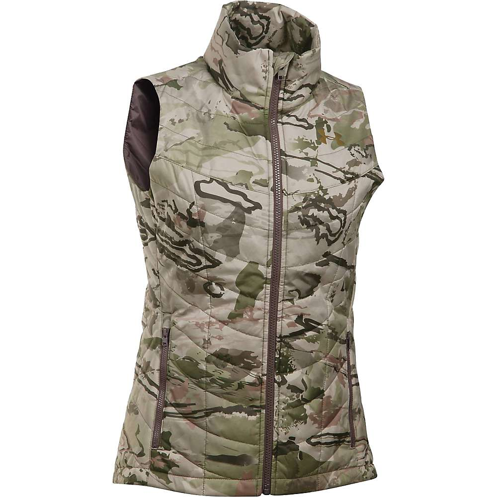 Under armour women 39 s frost puffer vest at for Women s fishing vest