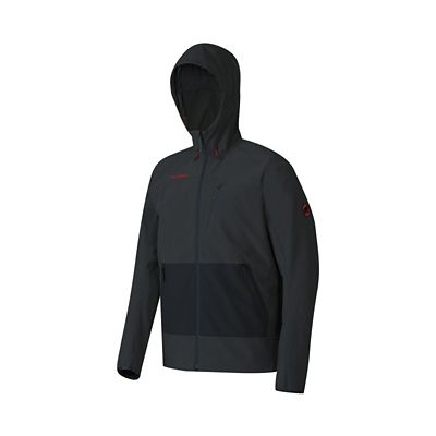 Mammut Men's Runbold SO Hooded Jacket