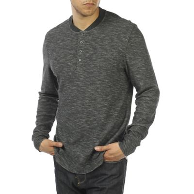 Jeremiah Men's Bailey Plated Slub Jersey Henley