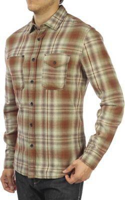 Jeremiah Men's Justus Twist Yarn Brush Twill LS Shirt