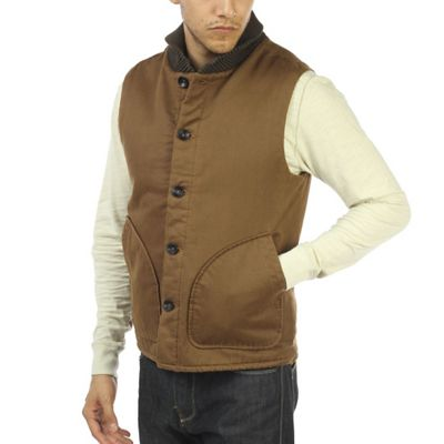 Jeremiah Men's Muir Cotton Suede Vest