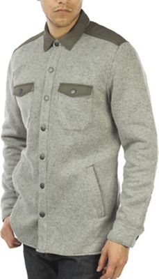 Jeremiah Men's Tate Poly Fleece Shirt Jacket