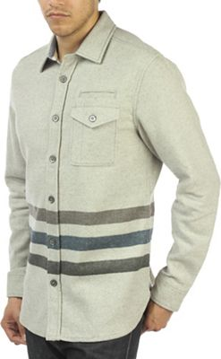 Jeremiah Men's Trenton Cotton Wool Print Stripe LS Shirt