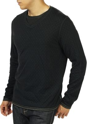 Jeremiah Men's Webb Reversible Jacquard V Neck Top