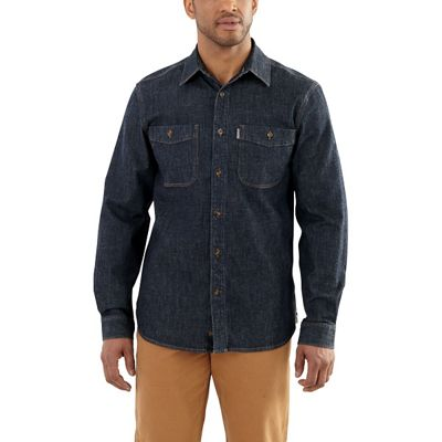 Carhartt Men's Rugged Flex Patten Denim Shirt
