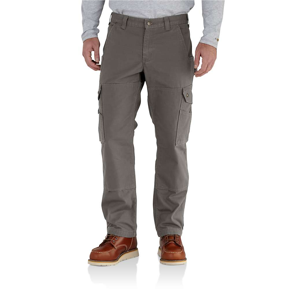 Carhartt Men's Ripstop Cargo work Flannel Lined Pant ...