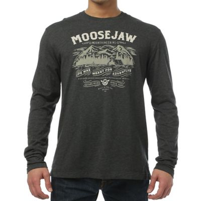 Moosejaw Men's I've Been Everywhere Vintage Regs LS Tee