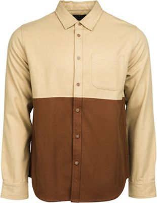 United By Blue Men's Banff Colorblock Wool Shirt