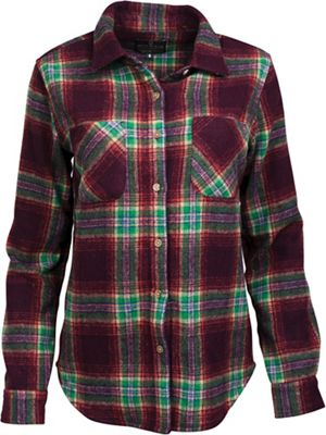 United By Blue Women's Cayley Wool Plaid Shirt