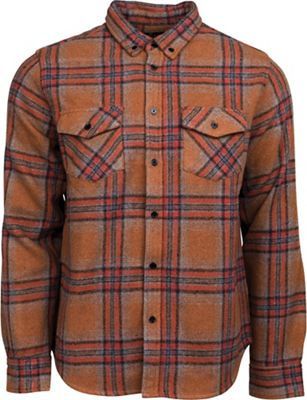 United By Blue Men's Lhotse Wool Plaid Shirt