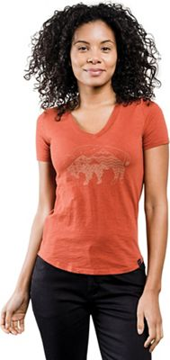 United By Blue Women's Starry Bison Tee