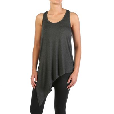 Beyond Yoga Women's Asymmetric Slit Racer Tank