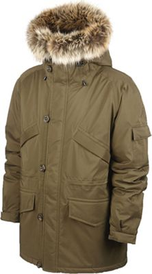 66North Men's Snaefell Special Edition Parka with Fake Fur