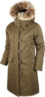 66North Women's Snaefell Special Edition Parka with Fake Fur