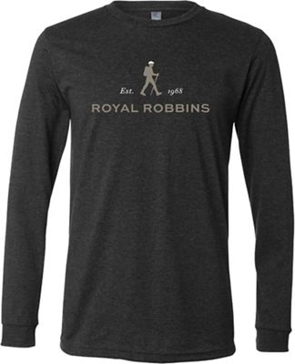Royal Robbins Men's Royal Robbins Logo LS Crew