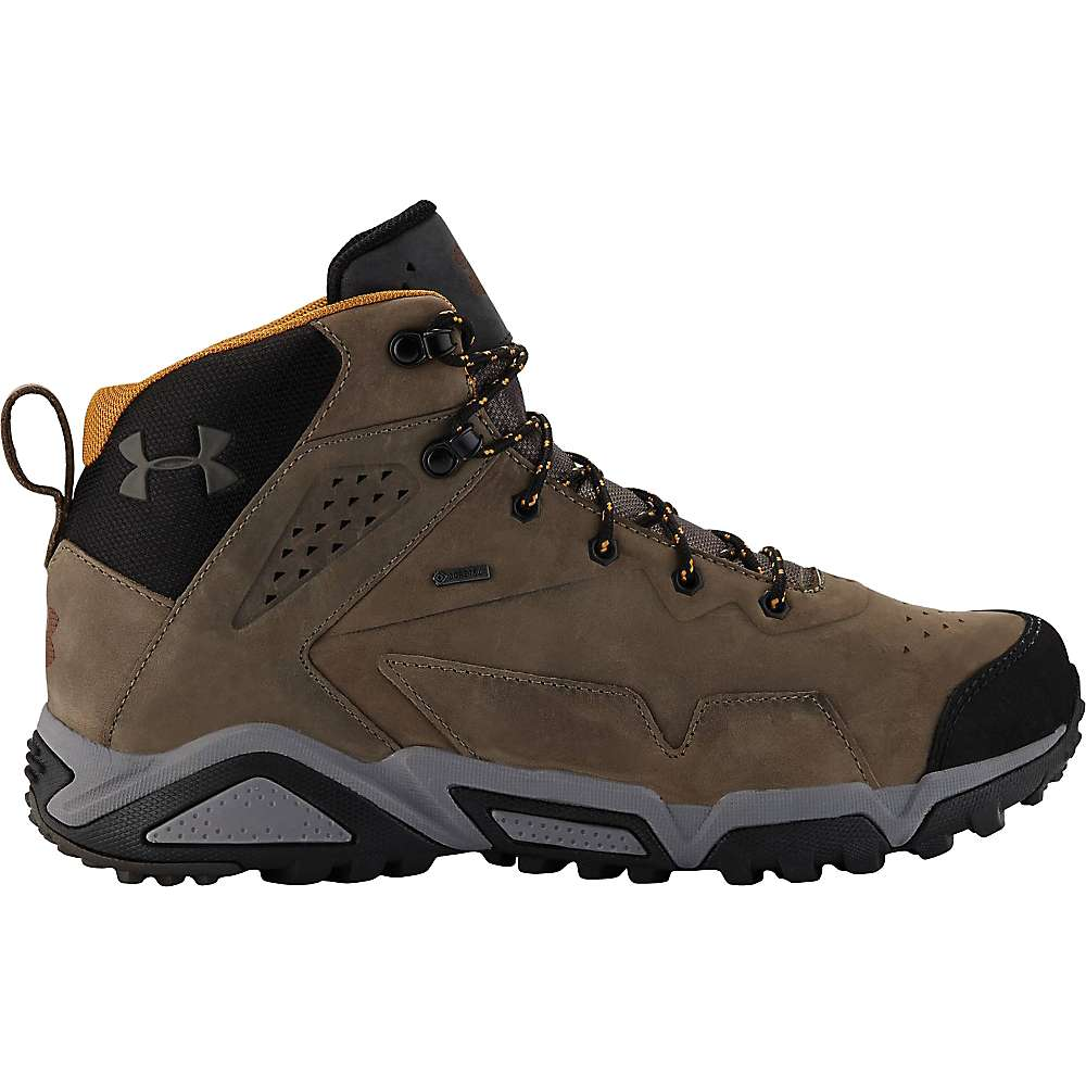 Under Armour Tabor Ridge Leather Hiking Boot - Mens Nock/Charcoal/Aluminum, 9.5
