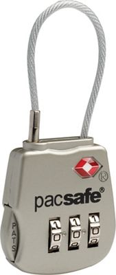 Pacsafe Prosafe 800 TSA Accepted 3 Dial Cable Lock