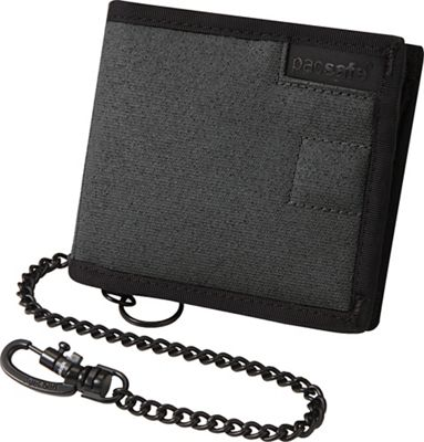 Pacsafe RFIDsafe Z100 Anti-Theft RFID Blocking Bi-Fold Wallet