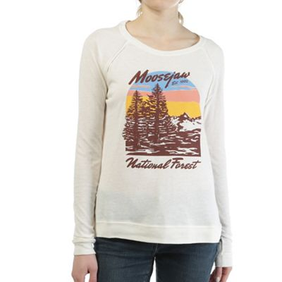 Moosejaw Women's Fake Plastic Trees Raglan Pullover