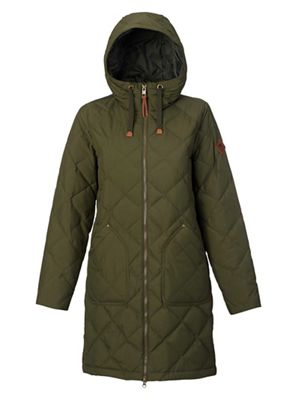 Burton Women's Bixby Long Down Jacket