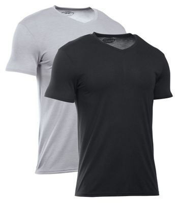 Under Armour Men's Core V-Neck Top - 2 Pack