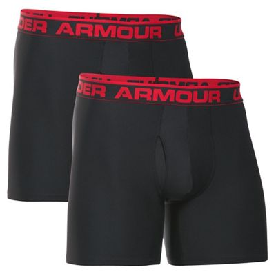 Under Armour Men's O Series 6IN Boxerjock - 2 Pack