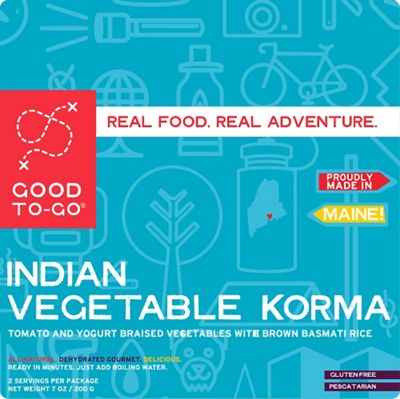 Good To-Go Indian Vegetable Korma - Single Serving